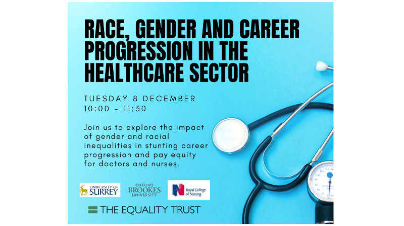 Race, gender and career progression in the Healthcare sector
