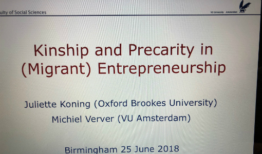 Entrepreneurship, theory and practice