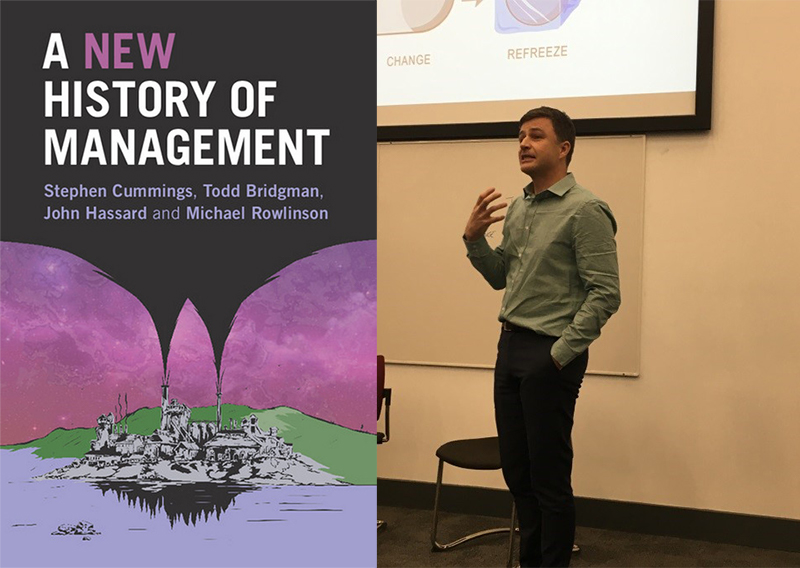 Guest presentation by Dr Todd Bridgman 'Why we need new histories of management'