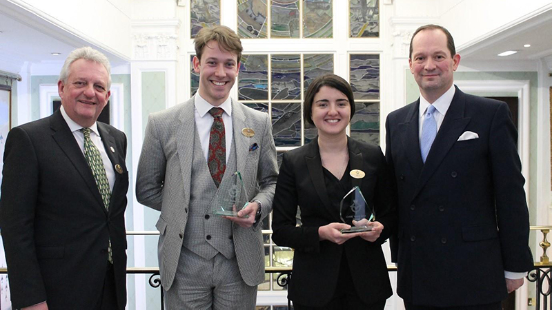 International Hospitality Management students star in CHME Young Guns Award
