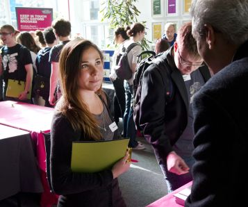 Careers event small