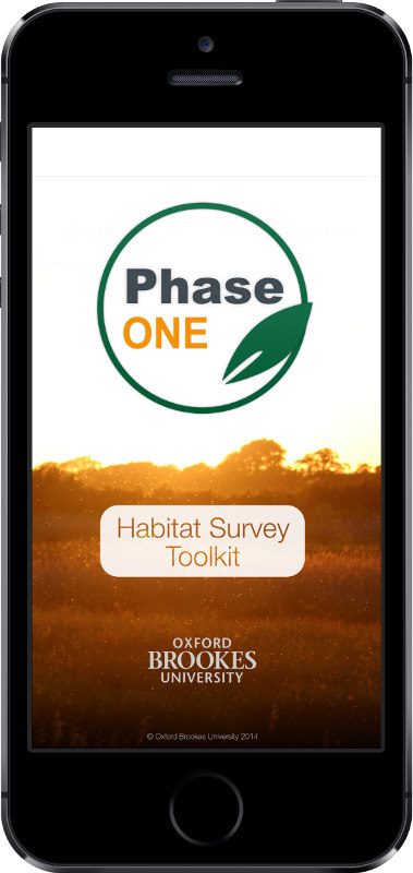 CEEC Phase One Habitat Survey Toolkit Guide iPhone