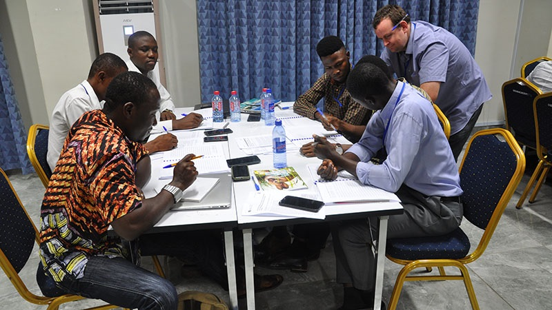 Oxford Brookes Biology Researchers engage with the University of Ghana