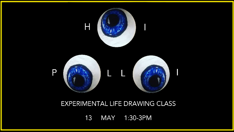 Hoi Polloi Experimental Life Drawing Class Event Image