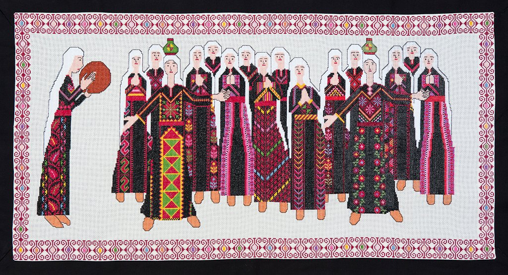 The Palestinian History Tapestry