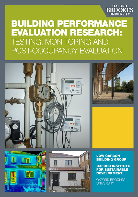 Building Performance Evaluation Booklet