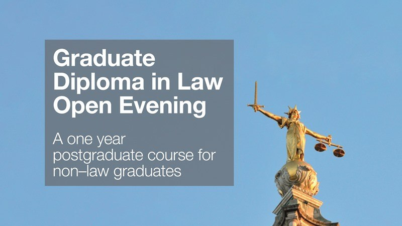 Graduate Diploma in Law Open Evening