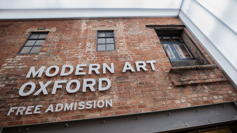 Student field trip to Modern Art Oxford exhibition