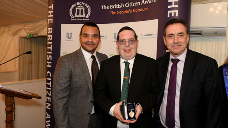 Education Alumnus wins British Citizen Award