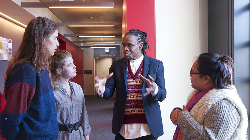 Oxford Brookes welcomes celebrated Jamaican poet Ishion Hutchinson
