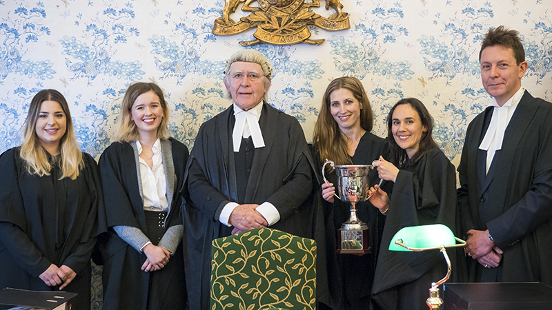 Winners of internal Law mooting competition announced