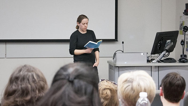 MA Creative Writing Alumna inspires students with her writing exploits