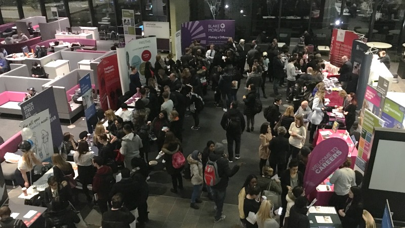 Oxford Brookes Law Fair a huge success