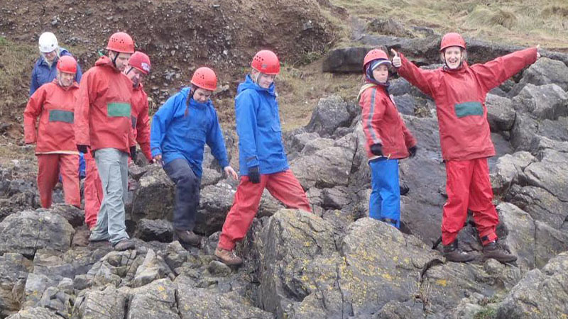 Teacher training students participate in outdoor adventure residential