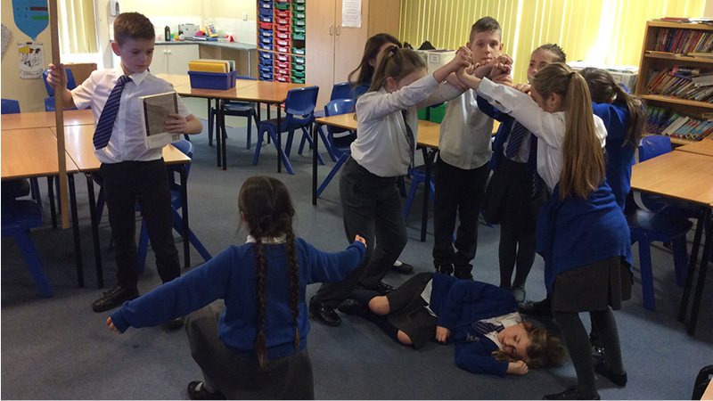 Innovative teaching of Shakespeare engages and excites primary school children