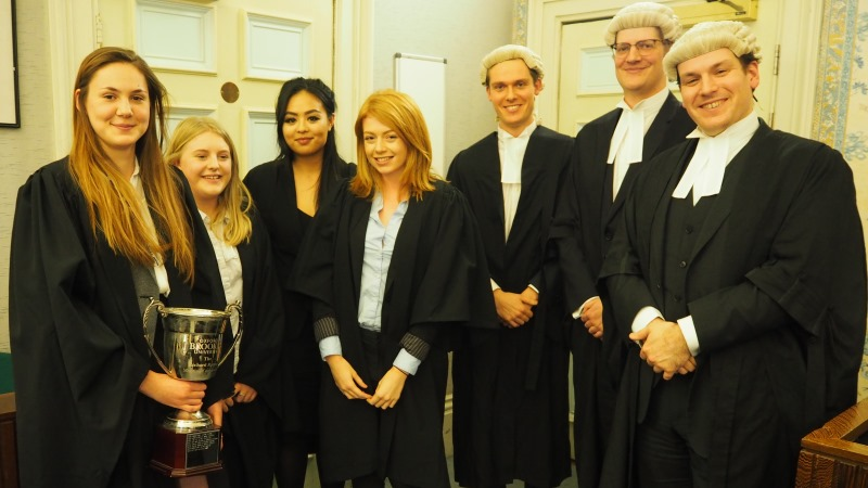 Undergraduate mooting successes for the School of Law