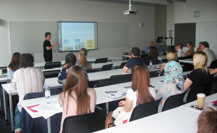The International Relations, Politics and Sociology programme held its Ninth Annual Postgraduate Day on 13 June 2014