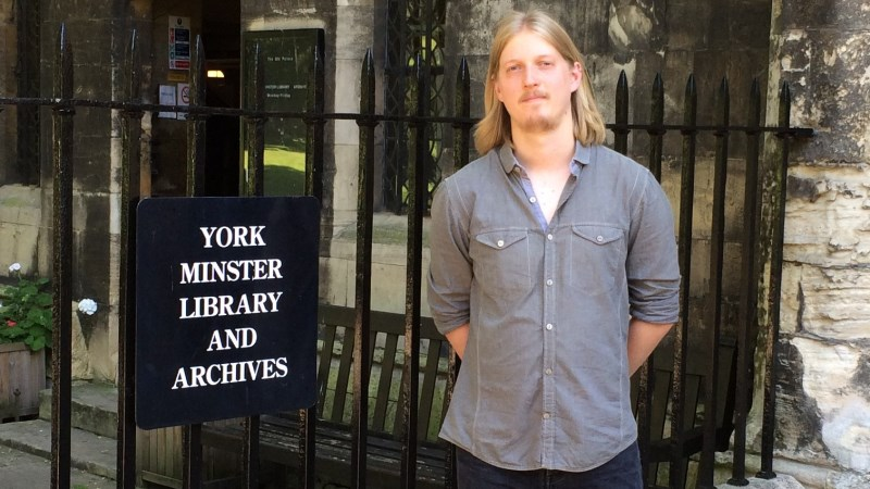 PhD student receives funding award from Royal Historical Society