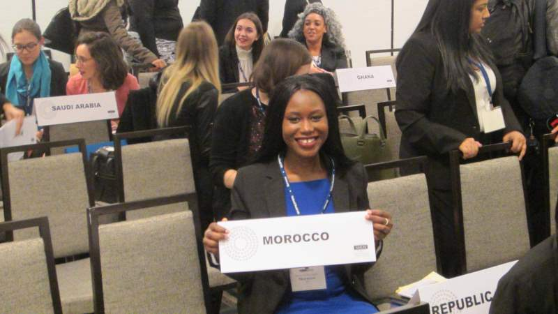 Brookes Student discusses Model UN Society Success