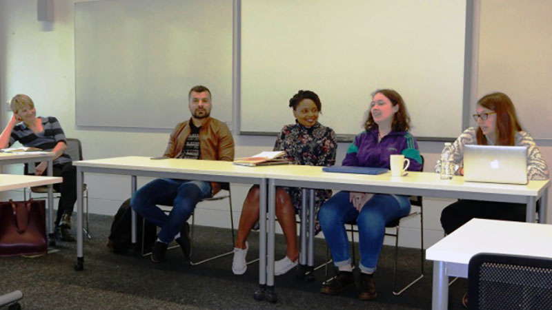 International Relations, Politics and Sociology Programme hosts its Annual Postgraduate Day