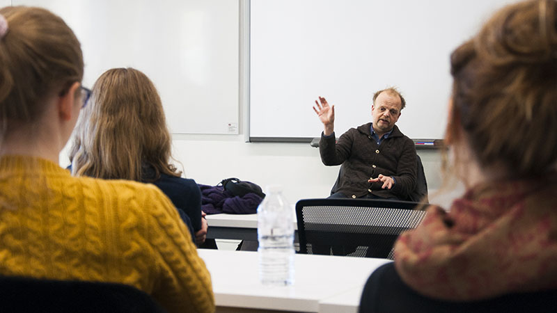 Drama student Q & A with Toby Jones - stage, screen, and voice actor