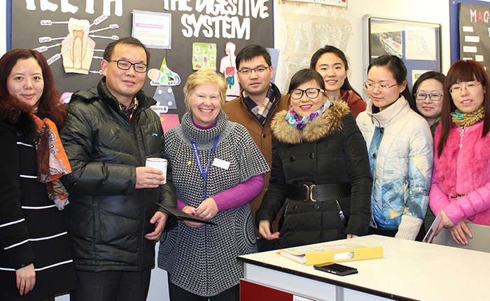 Centre for Educational Consultancy and Development welcomes teachers from the Hefei province of China