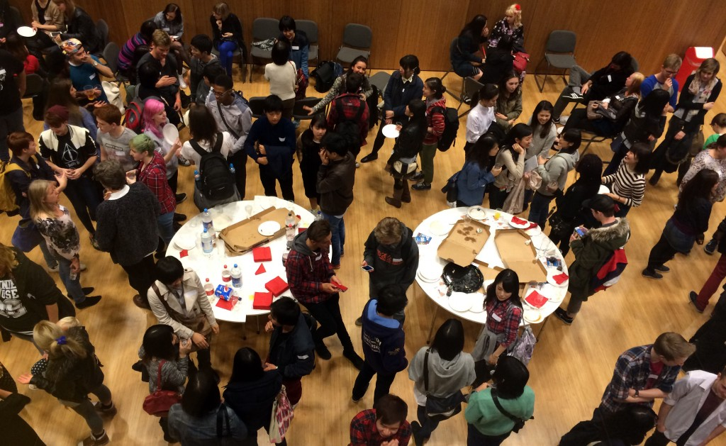 Japanese Society welcome party a resounding success!