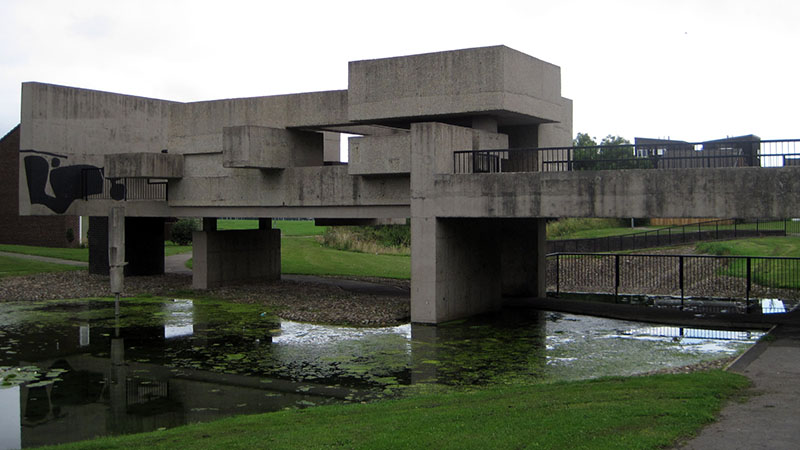 Oxford brookes university for Architecture 1970