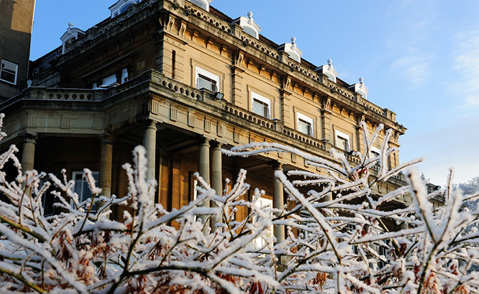 Headington Hill Hall - winter