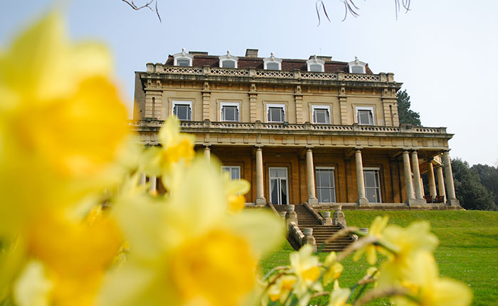 Headington Hill Hall - spring