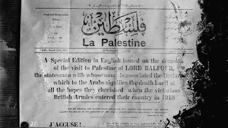 BRITAIN AND PALESTINE: 100 years of promises and conflict