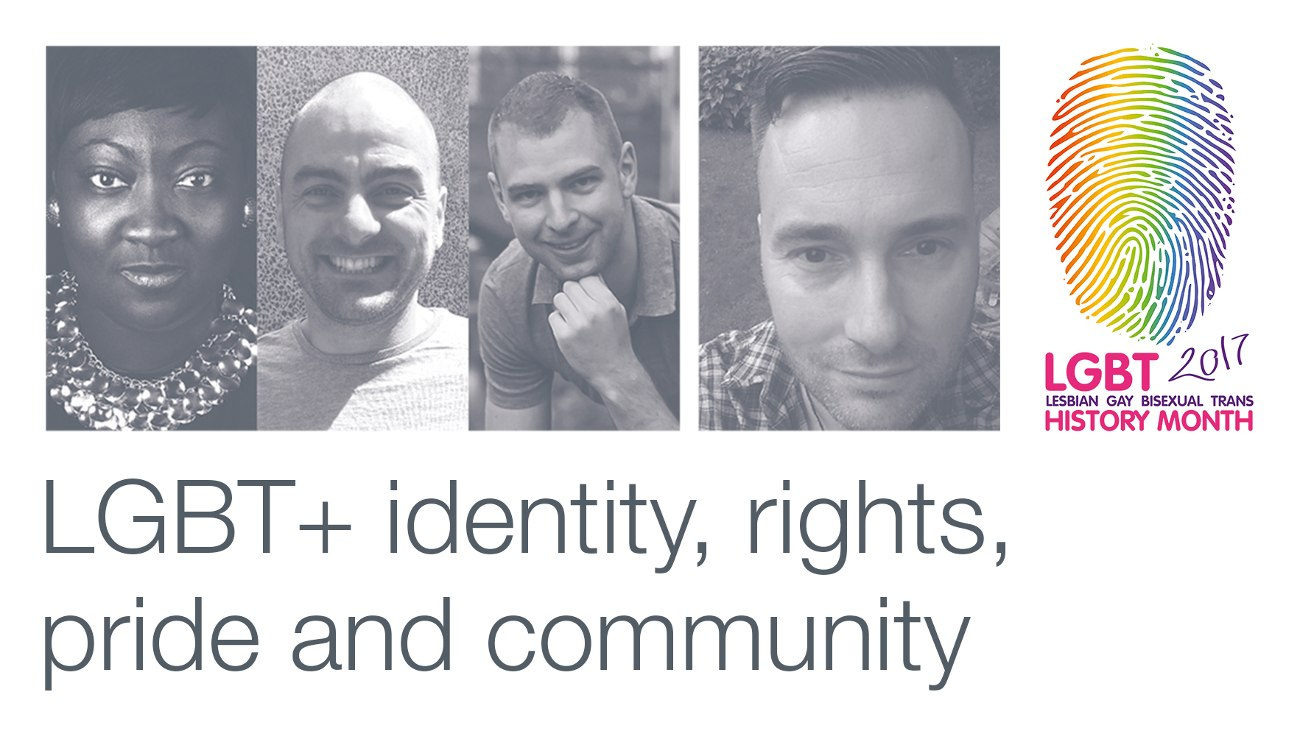 LGBT+ identity, rights, pride and community