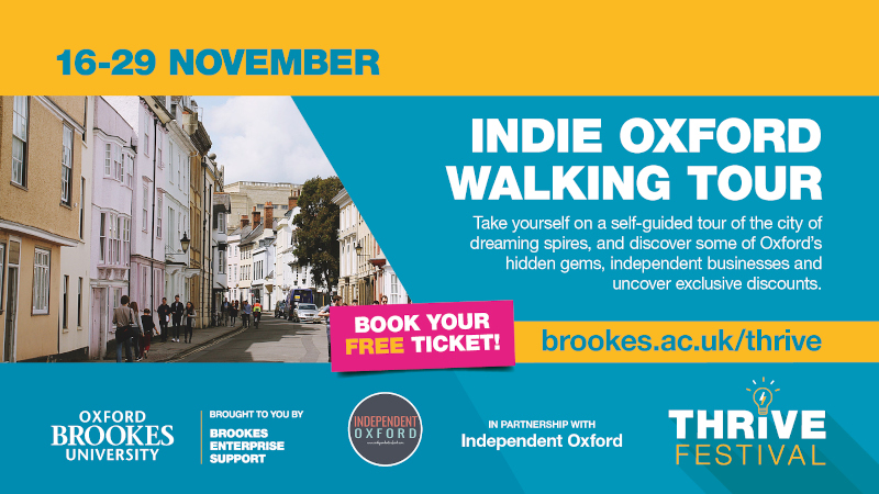 Thrive Discover Oxford with Independent Oxford