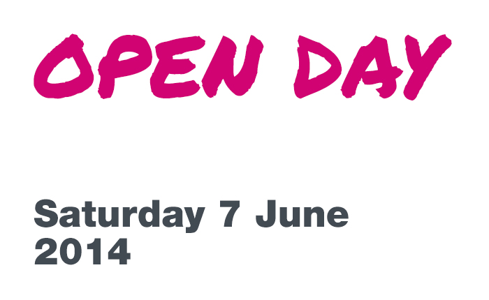 Undergraduate open day, Saturday 7 June 2014