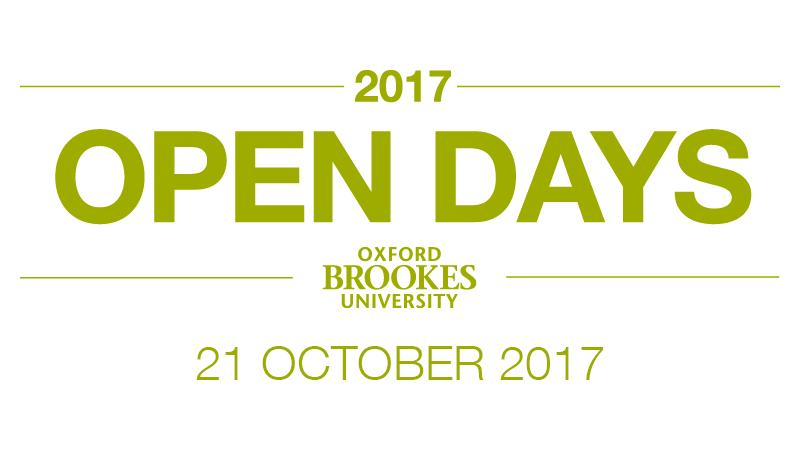 Undergraduate Open Day - 21 October 2017