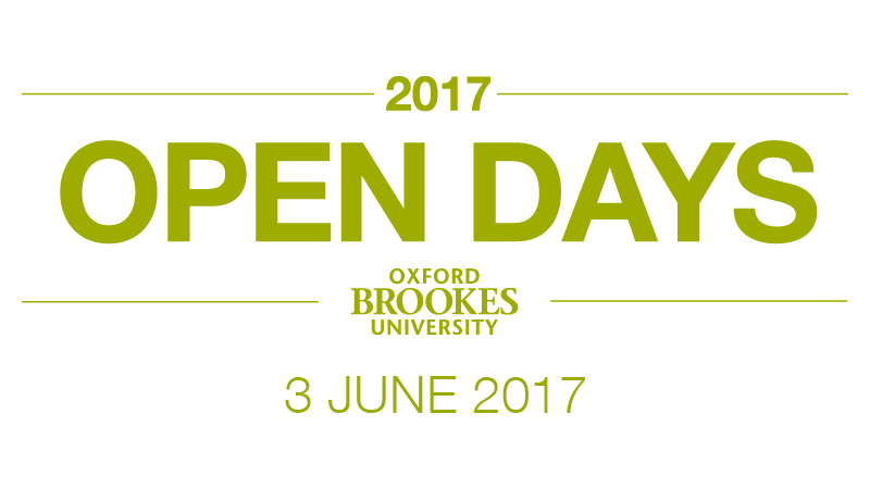 Undergraduate Open Day - 3 June 2017