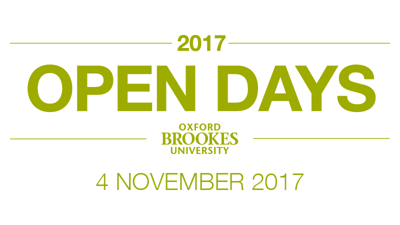 Undergraduate Open Day - 4 November 2017