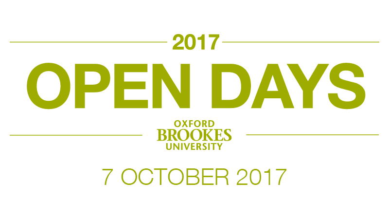 Undergraduate Open Day - 7 October 2017