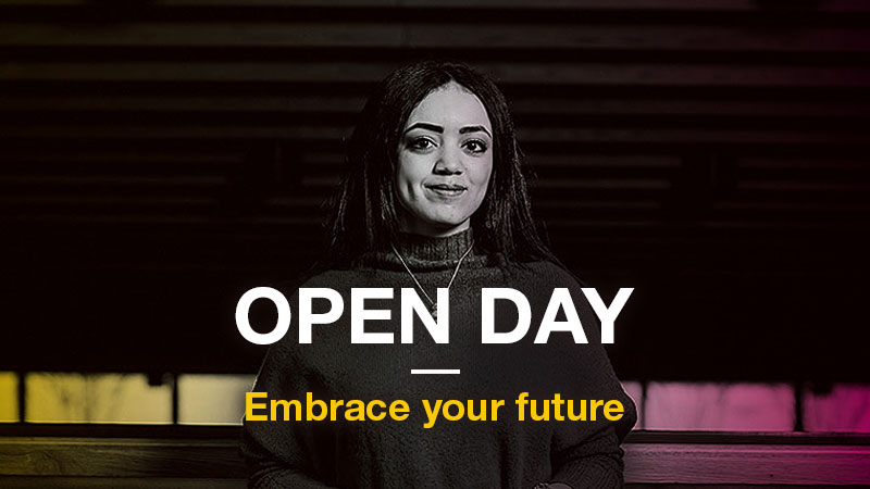 Undergraduate Open Day - Saturday 29 June