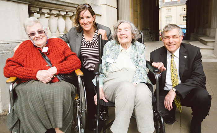Brookes' eldest living alumni are reunited at 150th anniversary celebration