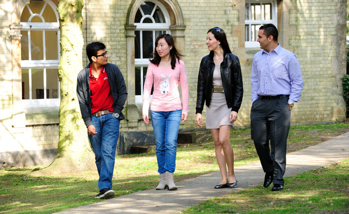 International students at Oxford Brookes