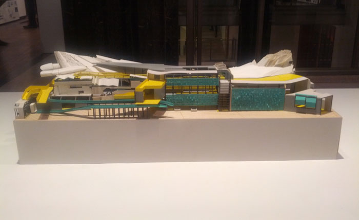 Andrew Chard exhibition model