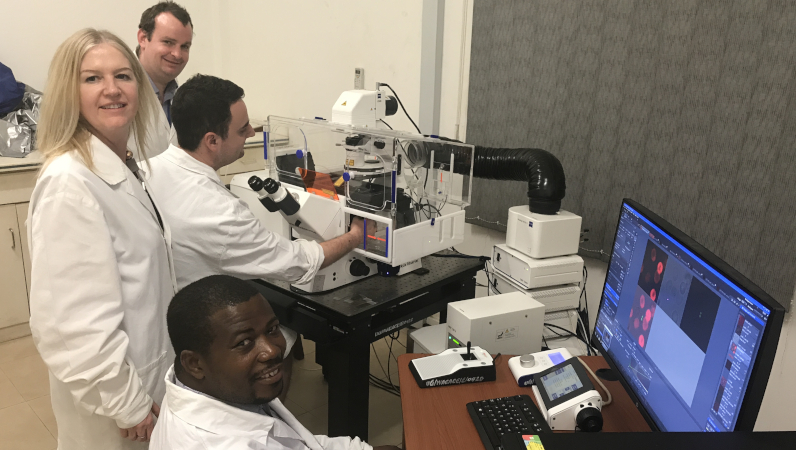 Oxford Brookes University bioimaging scientists collaborate with researchers in Ghana to create a centre of excellence