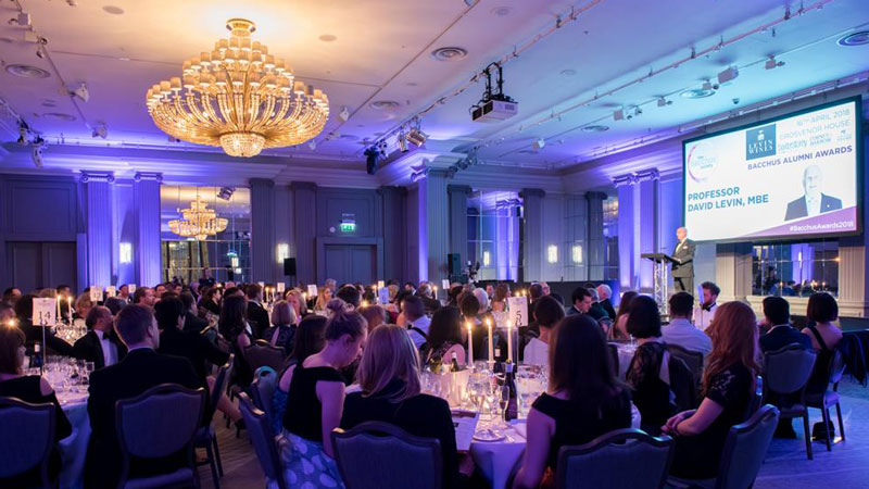 Bacchus Alumni Awards 2018 celebrate excellence of Hospitality graduates