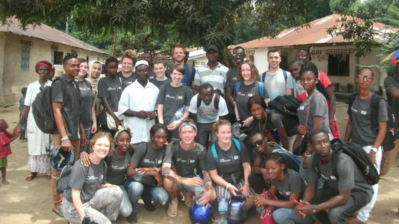Architecture student inspired by volunteering trip to Sierra Leone