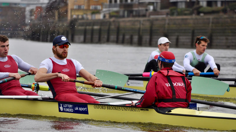 Success at GB Trials for Brookes Rowing