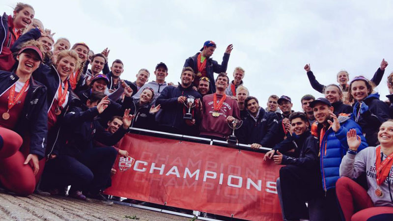 Brookes achieves number one rowing university status at BUCS Regatta