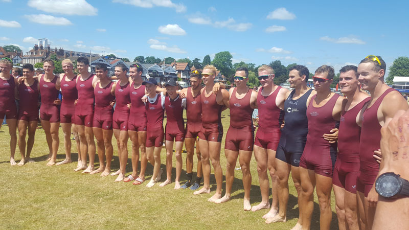 Brookes Rowing at Henley Regatta 2017