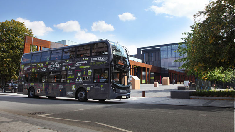 Brookes takes award for high-performing bus partnership