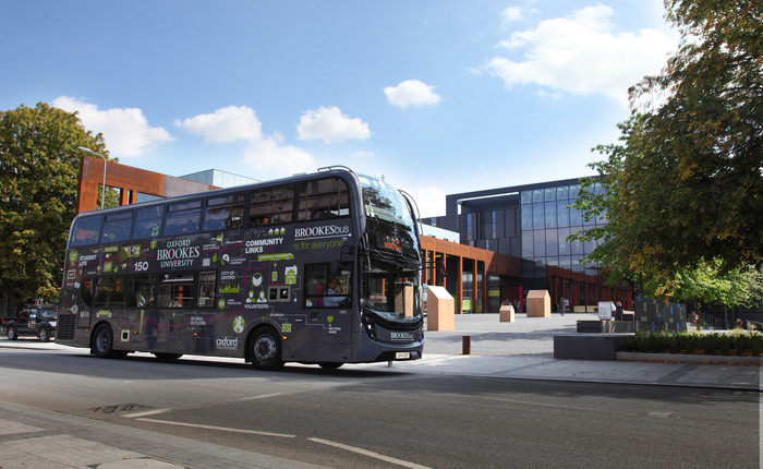 BROOKESbuses receive environmental accolade for Gyrodrive technology